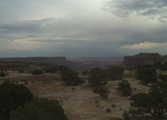 Distant desert storm. (Darrell_pics) Tags: clouds weather sky scenic landscape travel desert utah summer storm valleys elements explore