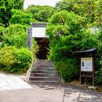 The entrance of Myohon-ji Temple in Kamakura : 妙本寺総門(鎌倉市大町) thumbnail