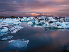 Jökulsárlón Glacier Lagoon Dawn (Joe Y Jiang) Tags: jokulsarlon glacierlagoon glacier lagoon lake ice iceland tour trip landscape amazing