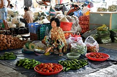 Vietnamese markets (One more shot Rog) Tags: vietman vietnamese markets market fishmarket mekong river selling stall shop vegetables fruit fruits fish