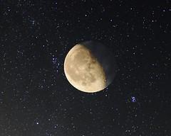 LUNA CON ESTRELLAS (jorobor) Tags: nocturnas luna