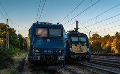 01_2018_08_05_Wanne-Eickel_Üwf_6185_529_ATLU_ES_64_U2_-_023_6182_523_DISPO_TXL (ruhrpott.sprinter) Tags: ruhrpott sprinter deutschland germany allmangne nrw ruhrgebiet gelsenkirchen lokomotive locomotives eisenbahn railroad rail zug train reisezug passenger güter cargo freight fret herne wanne eickel wanneeickel üwf atlu vectron siemens 6182 6185 6193 es 64 u2 es64u2 mrcedispo mrcedispolok mrce dispo stellwerk stellwerküwf txl txlogistik kaiser franz outdoor logo natur werbung