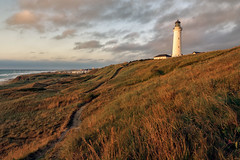 Lighthouse of Hirtshals (Pieter ( PPoot )) Tags: lighthouse hirtshals denmark evening light