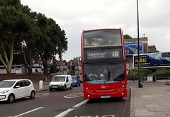 Go-Ahead London Central E127 LX09FCD | 436 to Lewisham, Shopping Centre (Unorm001) Tags: lx09 fcd red london double deck decks decker deckers buses bus routes route diesel go ahead