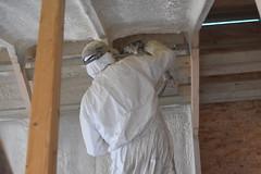 Attic spaces (robin.croft) Tags: attic ceiling roof lowcarbon building insulation airtightness mvhr