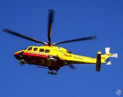 AgustaWestland AW-139 EC-KLC Inaer (diegoavanzi) Tags: aw139 agustawestland elicottero helicopter milano milan elisoccorso sony hx300 bridge ecklc eliambulanza
