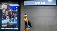 Métro Art-Loi - Metro Kunst-Wet (Bruxelles-Brussel) (saigneurdeguerre) Tags: antonio ponte saigneurdeguerre canon eos 5d mark 3 iii europe europa belgique belgië belgien belgium belgica bruxelles brussel brüssel brussels bruxelas metro kunst wet art loi artloi kunstwet stib mivb