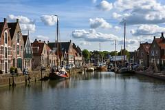 Monnikendam (Julysha) Tags: monnickendam harbour town thenetherlands noordholland summer august 2018 acr ship architecture dutch d7200 sigma241054art nikon holland canal sky