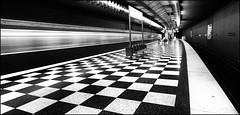 U2- Josephsburg - (antonkimpfbeck) Tags: ubahnu2 münchen metro monochrome bw fineart fujifilm