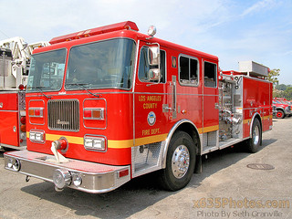 Los Angeles County Fire Department Engine 158