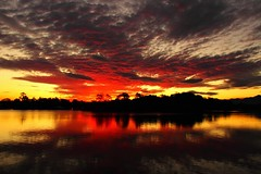 Bellinger River Sunset, Mylestom, New South Wales, Australia (Red Nomad OZ) Tags: mylestom bellingerriver sunset river newsouthwales nsw coffscoast australia sky cloud water dusk evening