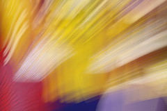Blur abstract: lines/rays in colour blocks/zones (Jon Dev) Tags: icm intentionalcameramovement zooming