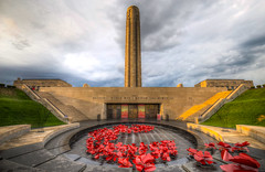 "National WWI Museum and Memorial (KC Mike Day) Tags: storms clouds ""kansas city missouri one war world museum memorial kcmo kc poppies armistice armisticpoppy ""liberty"