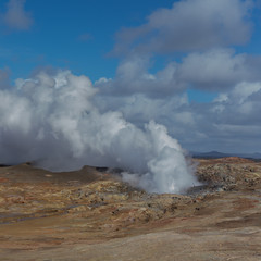 Cloud Generator (Sub Voce) Tags: geysir iceland steam cloud clouds cloudscape landscape travel hot spring square ngc