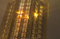 Clocher embrumé (jérémydavoine) Tags: église eglise church perret augusteperret architecture unesco clocher tour belltower tower light stainedglass vitraux lumière fog brume