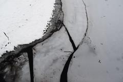 Gel al Pantà de Santa Fe (Hachimaki123) Tags: santafe santafedelmontseny montseny parcnaturaldelmontseny neu nieve snow hielo ice textura texture