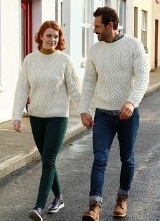 Love in wedding knitwear