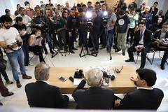 """Entrevista Coletiva """"Minas Gerais precisa de Respeito"""""""