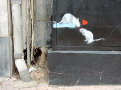 Mouse love (aestheticsofcrisis) Tags: street art urban intervention streetart urbanart guerillaart graffiti postgraffiti athens athen athina attiki greek greece eu europe exarcheia exarchia stencil schablone pochoir pangrati