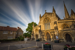 Passing Day (James Etchells) Tags: frome somerset town st saint john johns church dusk sunset evening urban architecture sky clouds photography outdoors outdoor landscape landscapes structure building buildings structures historic history medieval saxon