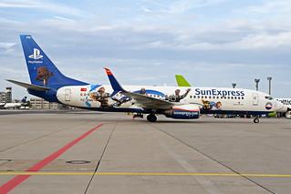 SunExpress Boeing 737-8HC TC-SNN FRA 09-08-18