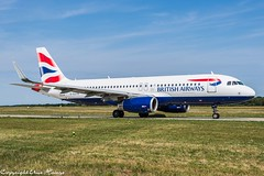 British Airways G-EUYR (U. Heinze) Tags: aircraft airlines airways airplane airbus planespotting plane flugzeug haj hannoverlangenhagenairporthaj eddv nikon