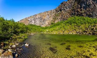 Asbyrgi Iceland