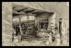 Urgut UZ - Bazaar butchery 02 (Daniel Mennerich) Tags: silk road uzbekistan urgut history bazaar