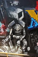 S7th_2735 boulevard du Général Jean Simon Paris 13 (meuh1246) Tags: streetart paris s7th boulevarddugénéraljeansimon lelavomatik paris13
