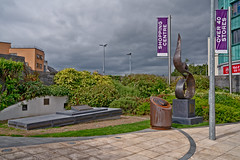 FAMINE MEMORIAL NEAR THE RAILWAY STATION IN KILKENNY [LOCATED IN THE MacDONAGH JUNCTION SHOPPING CENTRE]-142888 (infomatique) Tags: irishfamine memorial railwaystation macdonaghjunctionshoppingcentre kilkennyunionworkshop starvation greatfamine johnstreet ireland historic irishhistory streetsofireland infomatique fotonique august 2018