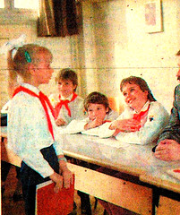 Thälmannpioniere,Jungpioniere,DDR Kinder,Freie-Deutsche-Jugend,DDR Pioniere (SchlangenTiger) Tags: thälmannpioniere jungpioniere jungepioniere pioniere freiedeutschejugend fdj gst kinder jugend schule schüler pioniergruppe kindergruppe schülergruppe gdr ddr