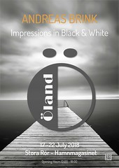 Öland - impressions in black & white (andreasbrink) Tags: öland exhibition poster blackwhite storarör