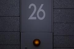 sdqH_180818_A (clavius_tma-1) Tags: sd quattro h sdqh sigma 70mm f28 dg macro art 西新宿 nishishinjuku 東京 tokyo 駅 station 地下道 underpass 26 red light circle round gray wall