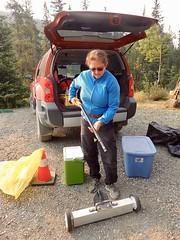 Sartoris Road Weed Pull (Oldman Watershed) Tags: castlecrownwildernesscoalition lynxcreek sartoris stewardship weedpull wendyryan magnet technology firepit