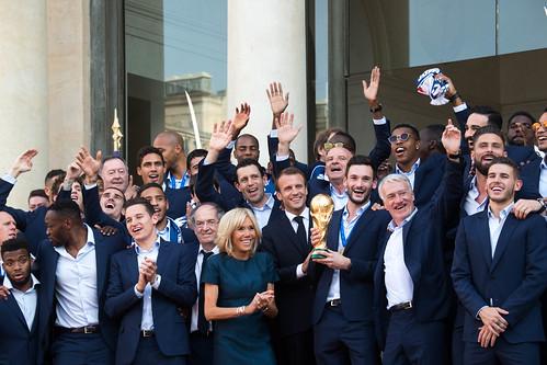 2018-07-16 : Réception de l'équipe de France de Football Championne du Monde 2018 - NO PRESS
