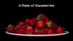 Timelapse: A plate of strawberries (Mark Rigler -) Tags: time lapse timelapse fruit strawberry rot rotten decay mould