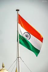 National pride of Indians ! ❤️ (Vijesh Kannan) Tags: india indianpride indianationalflag indianphotography newdelhi delhi redfort tricolor