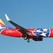 Southwest Airlines Boeing 737 N922WN Tennessee State special markings landing SJC DSC_0786