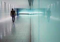 The underground city (Mister Blur) Tags: fotografía rodrigo ruben iphoneography iphone snapseed souterraine vie silence walking canada quebec montréal réso city underground