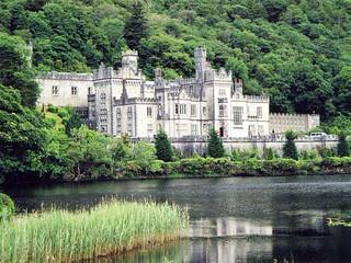 Irlande, l'Abbaye de Kylemore dans le Connemara