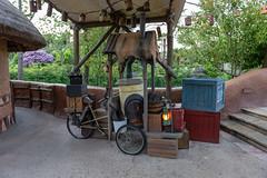 DisneyLand Park - Paris (myfrozenlife) Tags: themepark dineyland aerialphotos paris europe disney chessy îledefrance france fr