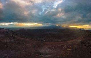 Red Mountain in Playa Blanca - Lanzarote - Canary Island