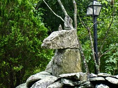 stone animal sculpture (muffett68 ☺ heidi ☺) Tags: ansh scavenger6 stony sculpture animal