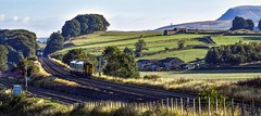 158794 at Settle Junction (robmcrorie) Tags: 158794 sprinter dmu settle junction semaphore signal train rail railway carlisle yorkshire nikon d850 railfan