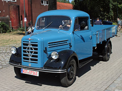 B2500 (Schwanzus_Longus) Tags: eystrup german germany old classic vintage vehicle truck lorry flatbed borgward b2500