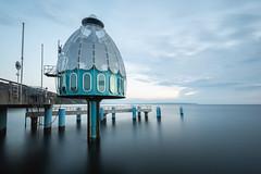 Sellin - Tauchglocke - diving dome (Felix Ott) Tags: sellin rügen ostsee balticsea longexposure langzeitbelichtung tauchkuppel divingdome