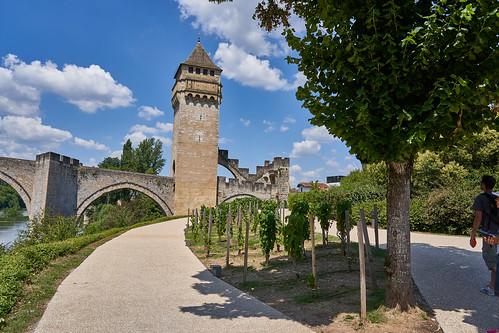 The medieval bridge at Cahors