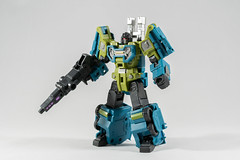 DSC07659 (KayOne73) Tags: iron factory legends scale transformers transformer robot toy figures 3rd party sony a7rii nikkor nikon 40mm combaticons bruticus combiner class war giant micro macro lens dx