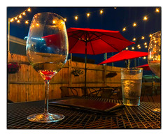 At the End of the Day... (Timothy Valentine) Tags: night 0718 hct restaurant vacation fbpost atethere 2018 wine kennebunk maine unitedstates us