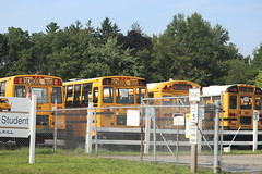 First Student # (ThoseGuys119) Tags: firststudentinc schoolbus pinebushny floridany wallkillny charter yard thomasbuilt saftlinerc2